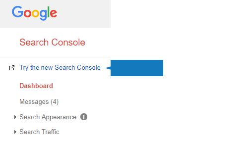 Accedi a Google Search Console