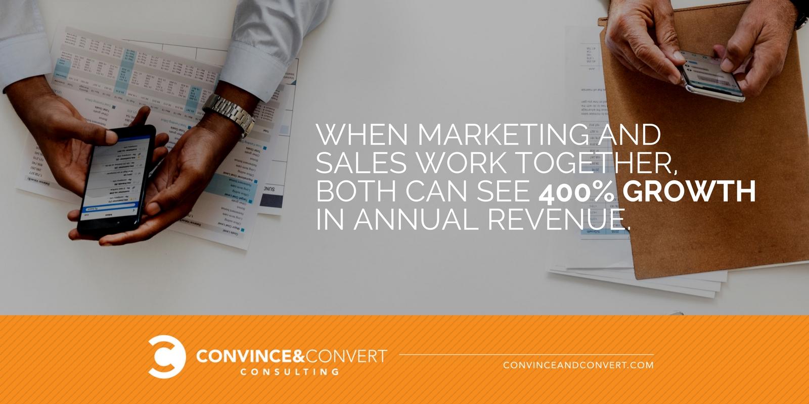 Quando marketing e vendite lavorano insieme