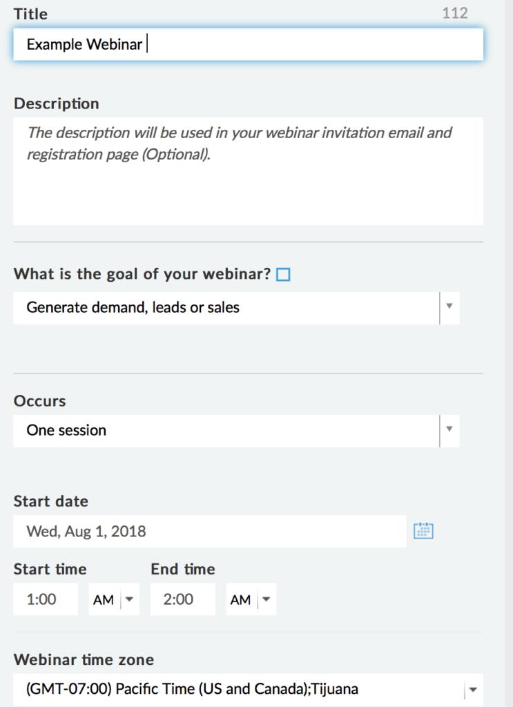 come eseguire un webinar