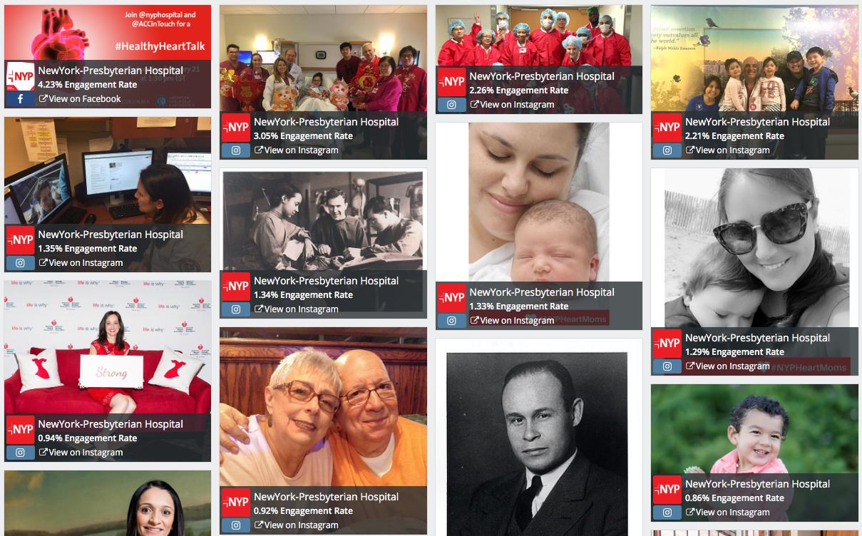 NewYork-Presbyterian guida i social media