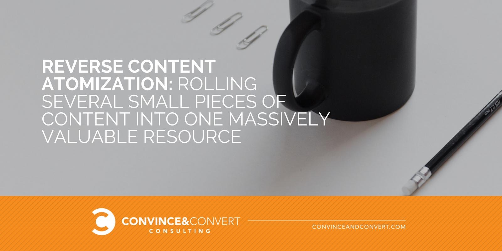 Atomizzazione del contenuto inverso