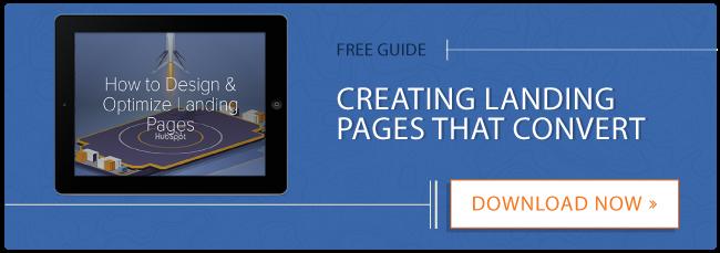 Guida gratuita Ottimizza le pagine di destinazione
