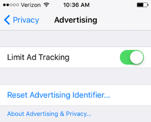 """limit-ad-tracking-iphone.png"""" title=""""limit-ad-tracking-iphone.png"""" width=""""300"""" data-constrained=""""true"""" style=""""width: 300px;"""" srcset=""""https://blog.hubspot.com/hs-fs/hubfs/limit-ad-tracking-iphone.png?t=1534646762607&width=150&name=limit-ad-tracking-iphone.png 150w, https://blog.hubspot.com/hs-fs/hubfs/limit-ad-tracking-iphone.png?t=1534646762607&width=300&name=limit-ad-tracking-iphone.png 300w, https://blog.hubspot.com/hs-fs/hubfs/limit-ad-tracking-iphone.png?t=1534646762607&width=450&name=limit-ad-tracking-iphone.png 450w, https://blog.hubspot.com/hs-fs/hubfs/limit-ad-tracking-iphone.png?t=1534646762607&width=600&name=limit-ad-tracking-iphone.png 600w, https://blog.hubspot.com/hs-fs/hubfs/limit-ad-tracking-iphone.png?t=1534646762607&width=750&name=limit-ad-tracking-iphone.png 750w, https://blog.hubspot.com/hs-fs/hubfs/limit-ad-tracking-iphone.png?t=1534646762607&width=900&name=limit-ad-tracking-iphone.png 900w"""" sizes=""""(max-width: 300px) 100vw, 300px"""