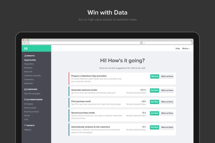 ecommerce ai vinci con i dati