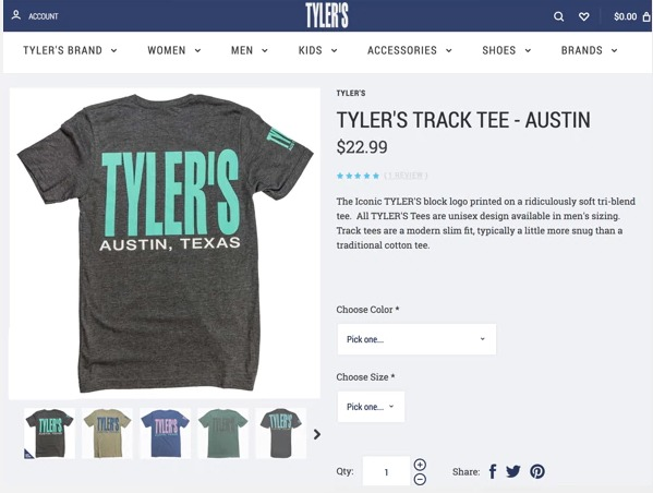 e-mail opt in tylers