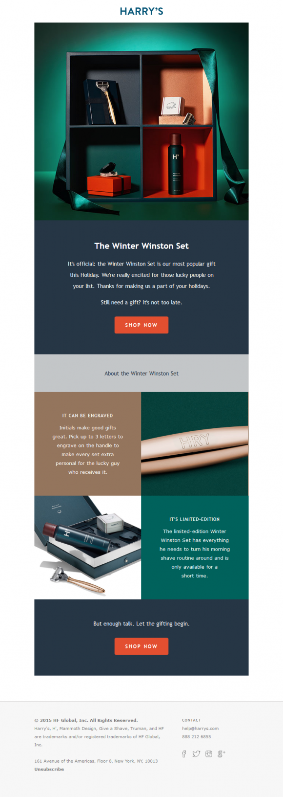 """harrys-email-example.png """"width ="""" 580 """"height ="""" 1630 """"srcset ="""" https://blog.hubspot.com/hs-fs/hubfs/harrys-email-example.png?t=1535436625787&width=290&height = 815 & name = harrys-email-example.png 290w, https://blog.hubspot.com/hs-fs/hubfs/harrys-email-example.png?t=1535436625787&width=580&height=1630&name=harrys-email-example. png 580w, https://blog.hubspot.com/hs-fs/hubfs/harrys-email-example.png?t=1535436625787&width=870&height=2445&name=harrys-email-example.png 870w, https: // blog. hubspot.com/hs-fs/hubfs/harrys-email-example.png?t=1535436625787&width=1160&height=3260&name=harrys-email-example.png 1160w, https://blog.hubspot.com/hs-fs/hubfs /harrys-email-example.png?t=1535436625787&width=1450&height=4075&name=harrys-email-example.png 1450w, https://blog.hubspot.com/hs-fs/hubfs/harrys-email-example.png? t = 1535436625787 & width = 1740 & height = 4890 & name = harrys-email-example.png 1740w """"sizes ="""" (larghezza massima: 580 px) 100vw, 580 px"""