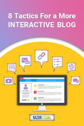 Blog interattivo
