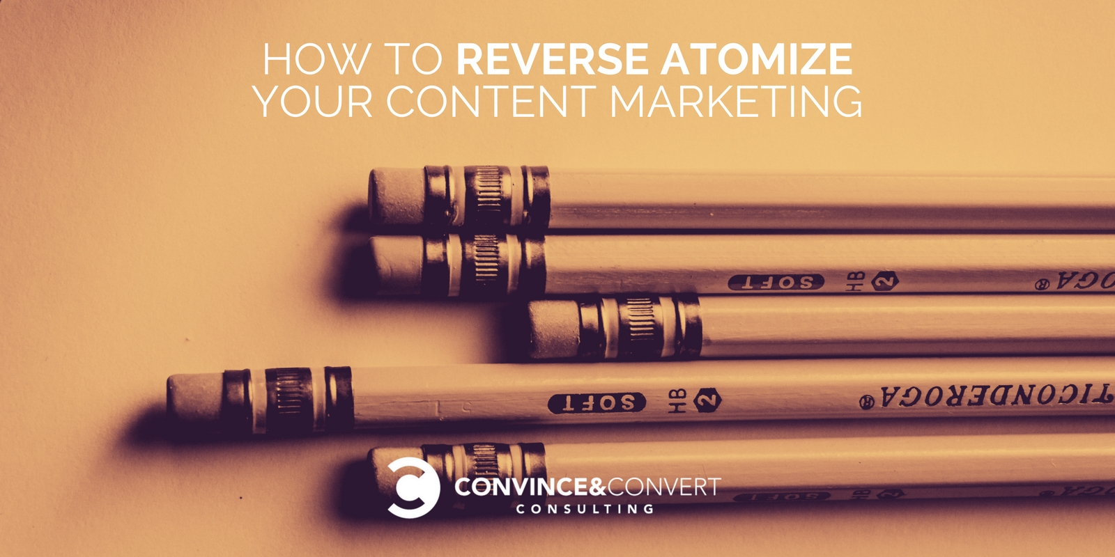 Come Reverse atomizzare il tuo Content Marketing
