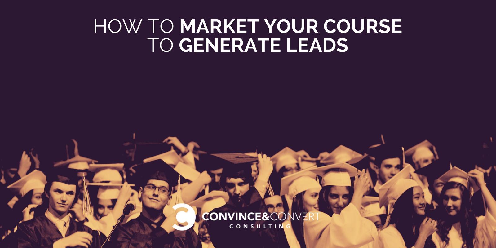 come commercializzare il tuo corso per generare lead