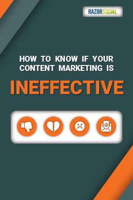 Come sapere se il tuo Content Marketing è inefficace