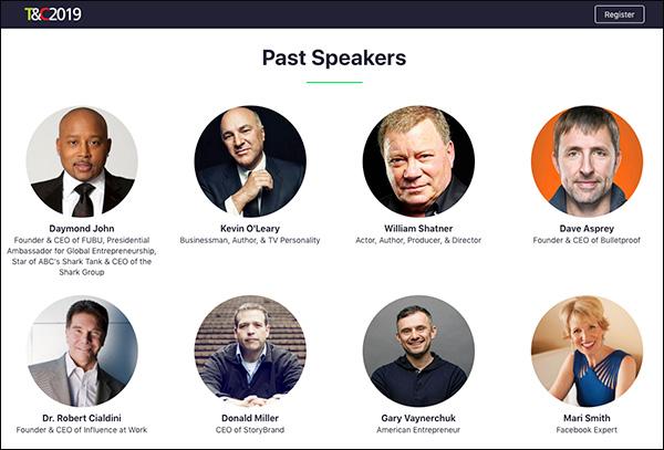 Relatori del passato di Traffic & Conversion Summit