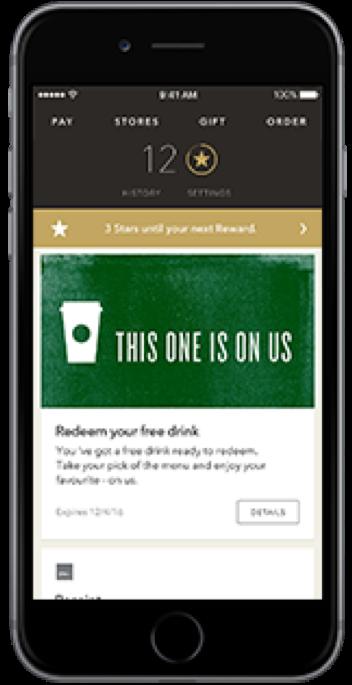 Esempio omnicanale di Starbucks