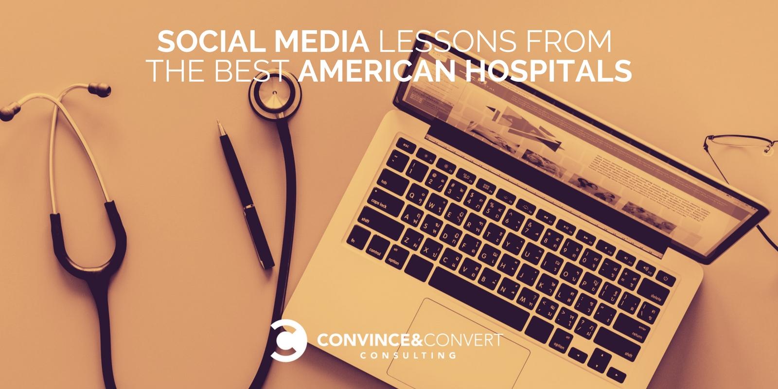 Lezioni sui social media dai migliori ospedali americani