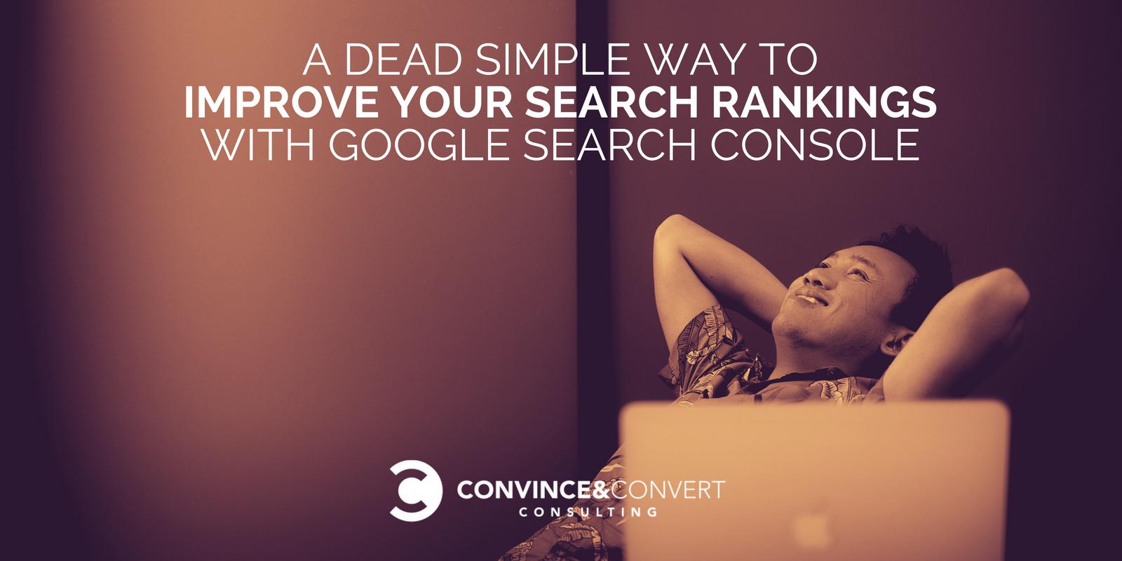 Migliora i tuoi risultati di ricerca con Google Search Console