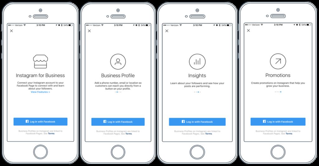 Un account aziendale Instagram fornisce metriche, approfondimenti e precise opzioni di targeting.