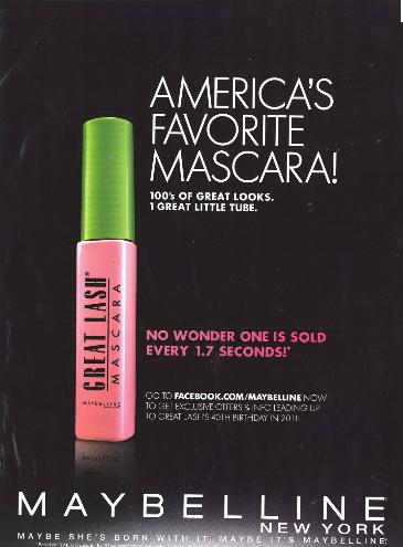 pubblicità-Maybelline