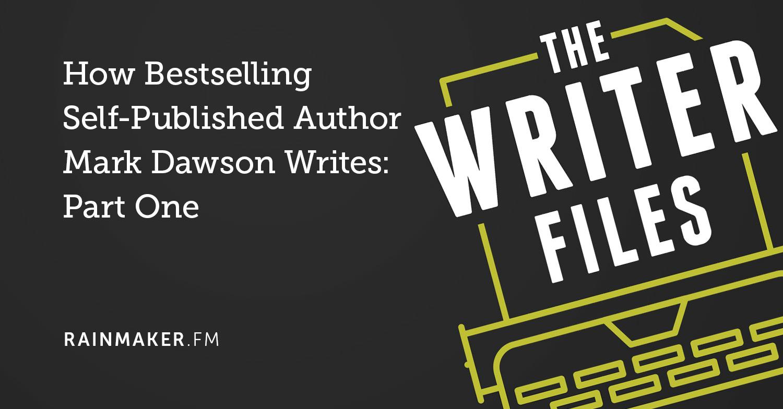 Come scrive il bestseller autore autoreferenziale Mark Dawson: parte prima