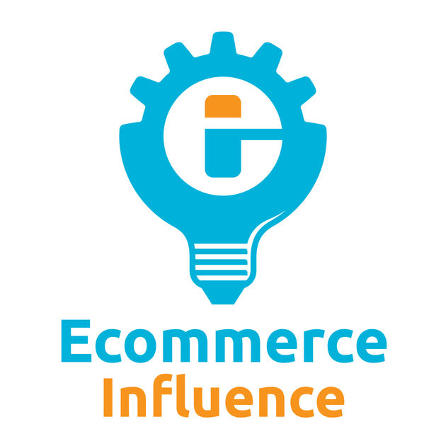 Il logo del podcast Ecommerce Influence.