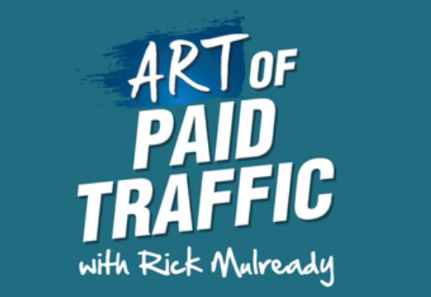 Logo del podcast sul traffico a pagamento.
