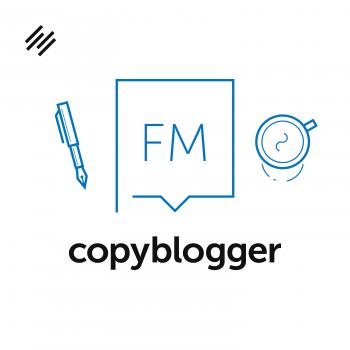 Logo del podcast copyblogger di Rainmaker.FM.
