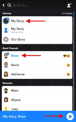 Icona Snapchat per cambiare la durata del tuo scatto