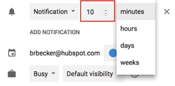 "event-notification-minutes ""width ="" 350 ""style ="" width: 350px; blocco di visualizzazione; margin-left: auto; margin-right: auto; ""srcset ="" https://blog.hubspot.com/hs-fs/hubfs/event-notification-minutes.png?t=1536571987949&width=175&name=event-notification-minutes.png 175w, https : //blog.hubspot.com/hs-fs/hubfs/event-notification-minutes.png? t = 1536571987949 & width = 350 & name = event-notification-minutes.png 350w, https://blog.hubspot.com/hs- fs / hubfs / event-notification-minutes.png? t = 1536571987949 & width = 525 & name = event-notification-minutes.png 525w, https://blog.hubspot.com/hs-fs/hubfs/event-notification-minutes.png ? t = 1536571987949 & width = 700 & name = event-notification-minutes.png 700w, https://blog.hubspot.com/hs-fs/hubfs/event-notification-minutes.png?t=1536571987949&width=875&name=event-notification- minutes.png 875w, https://blog.hubspot.com/hs-fs/hubfs/event-notification-minutes.png?t=1536571987949&width=1050&name=event-notification-minutes.png 1050w ""sizes ="" (max. larghezza: 350px) 100vw, 350px"