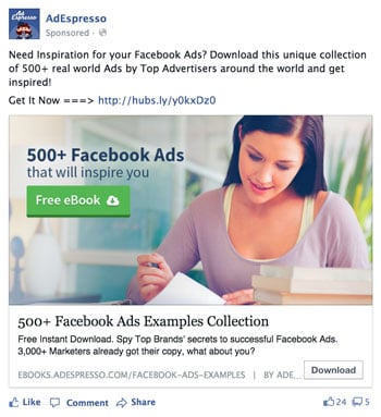 Facebook Ad Design Woman