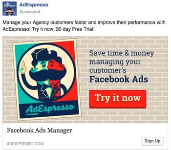 agenzia pubblicitaria di Facebook
