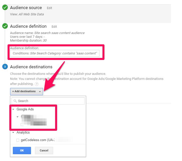 Pubblico-destinazioni-Google-ads