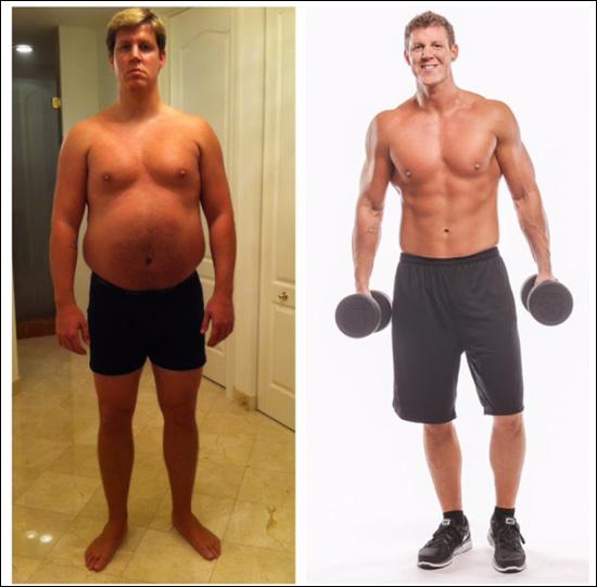 foto prima e dopo