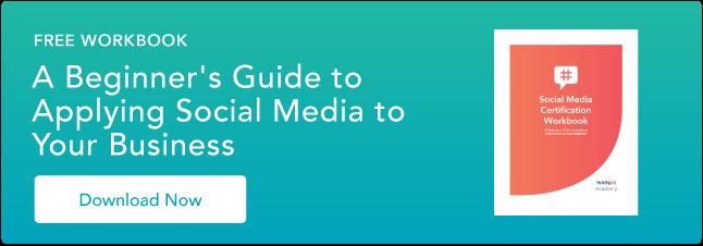 Clicca qui per affinare le tue capacità con l'aiuto della nostra cartella di lavoro sui social media.