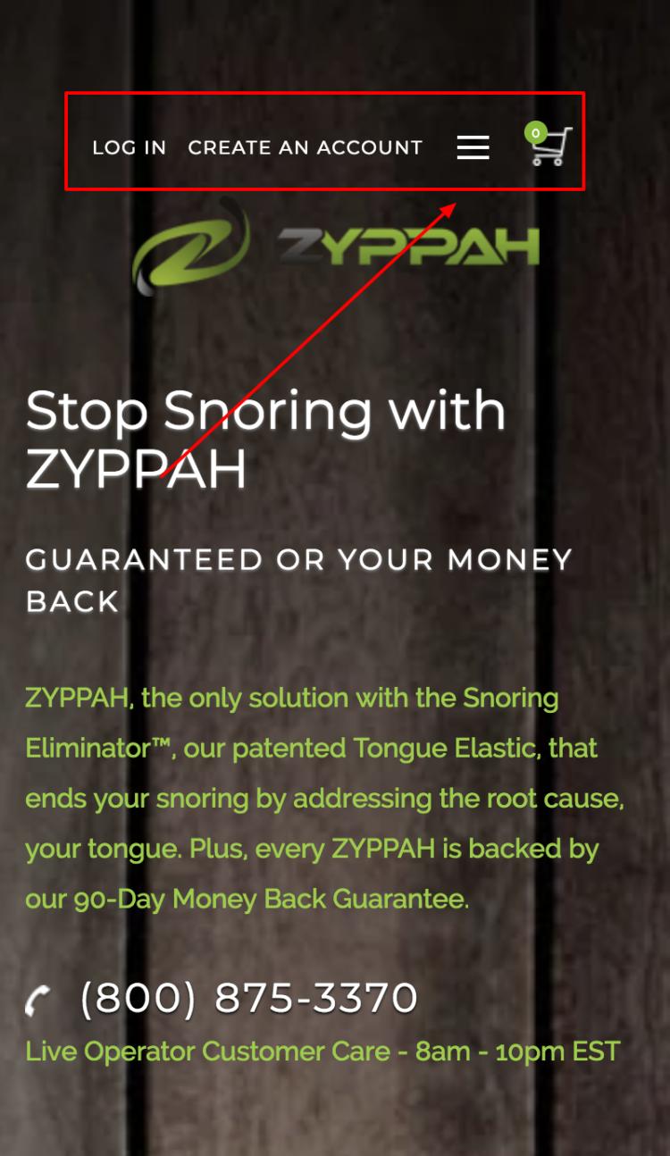 ZYPPAH mobile primo design mobile
