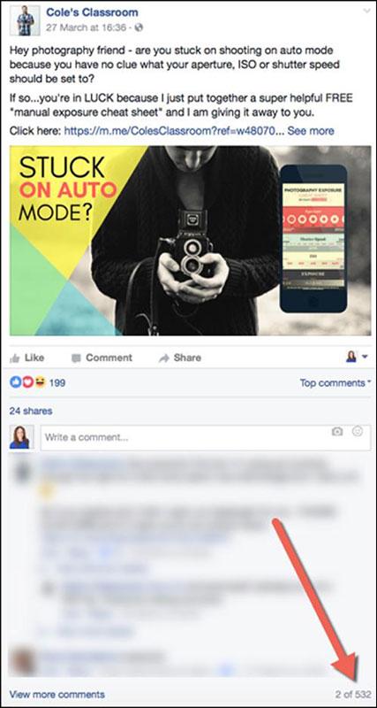 post come questo ottengono più commenti