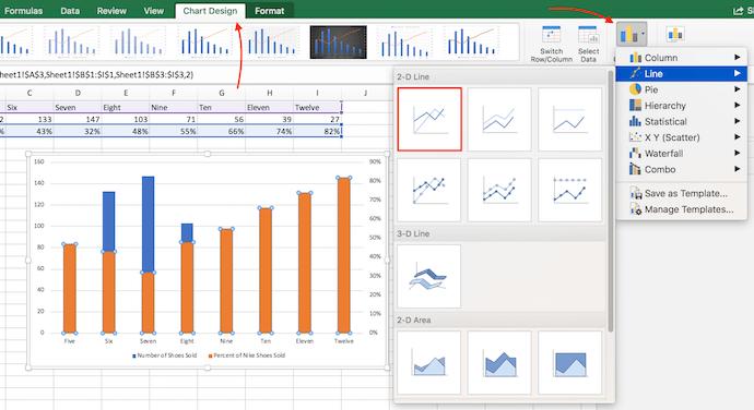 "Istruzioni per cambiare il tipo di grafico in Excel e aggiungere barre arancioni all'asse Y secondario ""width ="" 690 ""style ="" width: 690px; ""srcset ="" https://blog.hubspot.com/hs-fs/hubfs/change- chart-type.png? t = 1538014629042 & width = 345 & name = change-chart-type.png 345w, https://blog.hubspot.com/hs-fs/hubfs/change-chart-type.png?t=1538014629042&width=690&name = change-chart-type.png 690w, https://blog.hubspot.com/hs-fs/hubfs/change-chart-type.png?t=1538014629042&width=1035&name=change-chart-type.png 1035w, https : //blog.hubspot.com/hs-fs/hubfs/change-chart-type.png? t = 1538014629042 & width = 1380 & name = change-chart-type.png 1380w, https://blog.hubspot.com/hs- fs / hubfs / change-chart-type.png? t = 1538014629042 & width = 1725 & name = change-chart-type.png 1725w, https://blog.hubspot.com/hs-fs/hubfs/change-chart-type.png ? t = 1538014629042 & width = 2070 & name = change-chart-type.png 2070w ""sizes ="" (larghezza massima: 690px) 100vw, 690px"