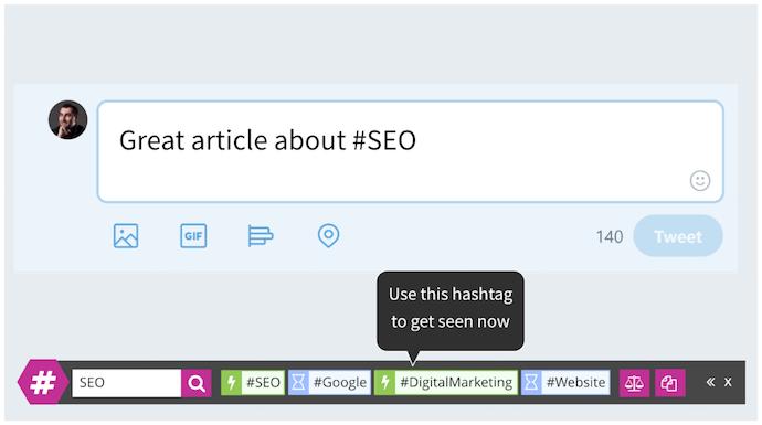 "Barra degli strumenti Tweet con suggerimenti hashtag di RiteTag ""srcset ="" https://blog.hubspot.com/hs-fs/hubfs/ritetag.png?t=1538143630262&width=345&name=ritetag.png 345w, https: //blog.hubspot. com / hs-fs / hubfs / ritetag.png? t = 1538143630262 & width = 690 & name = ritetag.png 690w, https://blog.hubspot.com/hs-fs/hubfs/ritetag.png?t=1538143630262&width=1035&name=ritetag .png 1035w, https://blog.hubspot.com/hs-fs/hubfs/ritetag.png?t=1538143630262&width=1380&name=ritetag.png 1380w, https://blog.hubspot.com/hs-fs/hubfs /ritetag.png?t=1538143630262&width=1725&name=ritetag.png 1725w, https://blog.hubspot.com/hs-fs/hubfs/ritetag.png?t=1538143630262&width=2070&name=ritetag.png 2070w ""sizes ="" (larghezza massima: 690 px) 100vw, 690 px"
