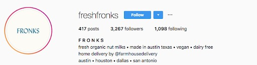 instagram marketing fronks