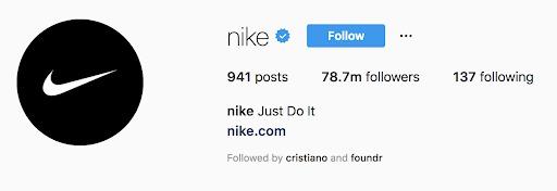 instagram marketing nike