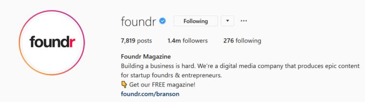 instagram marketing foundr