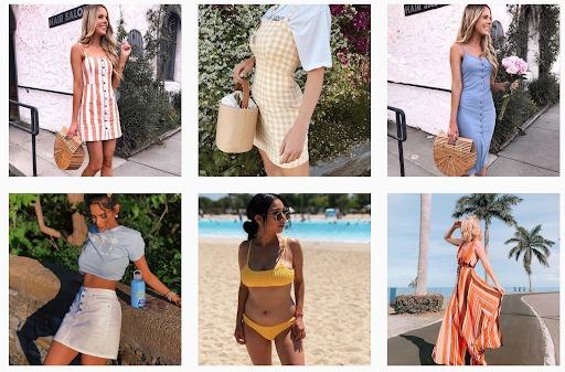 instagram marketing forever 21 feed