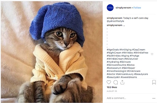 instagram marketing simply venom
