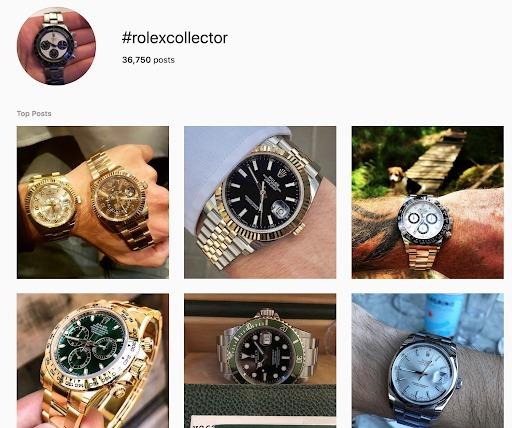instagram marketing rolex