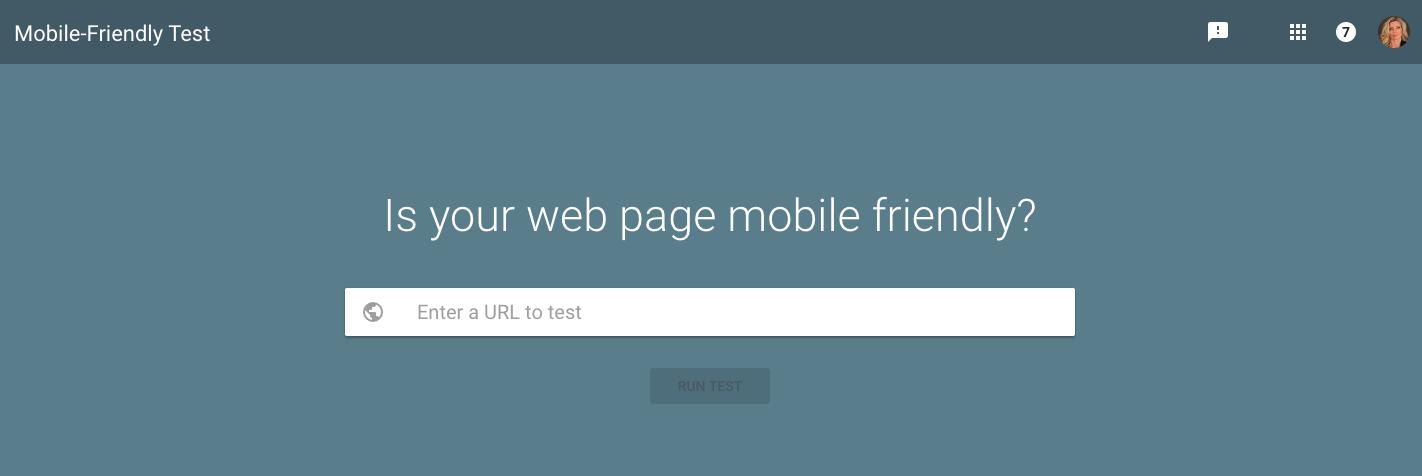 Test di mobile-friendly