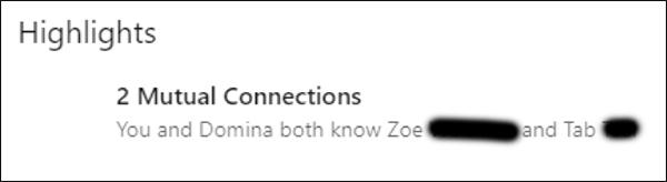 connessioni reciproche