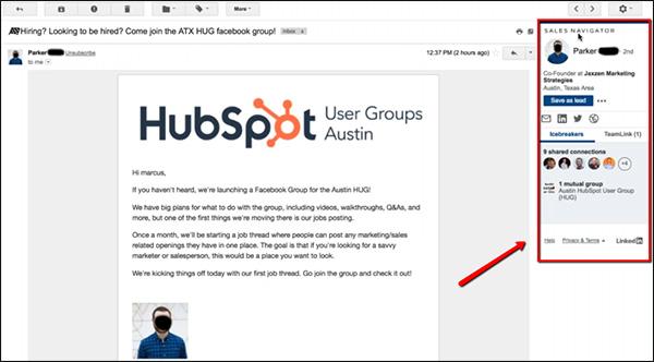 messaggio da persona che mostra plugin pop-up