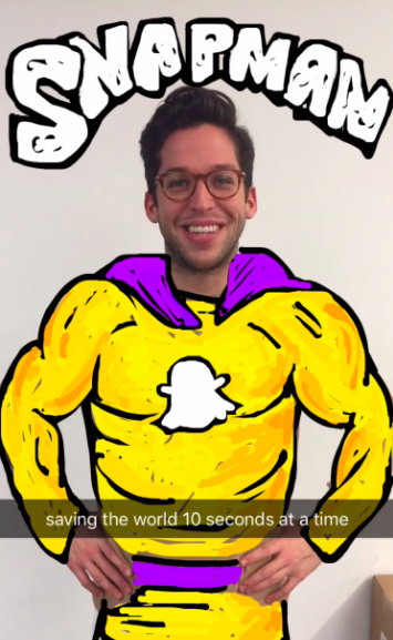 """snapman-snapchat.png """"title ="""" snapman-snapchat.png """"width ="""" 355 """"height ="""" 577 """"srcset ="""" https://blog.hubspot.com/hs-fs/hubfs/snapman-snapchat.png? t = 1539571477767 & width = 178 & height = 289 & name = snapman-snapchat.png 178w, https://blog.hubspot.com/hs-fs/hubfs/snapman-snapchat.png?t=1539571477767&width=355&height=577&name=snapman-snapchat.png 355w, https://blog.hubspot.com/hs-fs/hubfs/snapman-snapchat.png?t=1539571477767&width=533&height=866&name=snapman-snapchat.png 533w, https://blog.hubspot.com/hs -fs / hubfs / snapman-snapchat.png? t = 1539571477767 & width = 710 & height = 1154 & name = snapman-snapchat.png 710w, https://blog.hubspot.com/hs-fs/hubfs/snapman-snapchat.png?t= 1539571477767 & width = 888 & height = 1443 & name = snapman-snapchat.png 888w, https://blog.hubspot.com/hs-fs/hubfs/snapman-snapchat.png?t=1539571477767&width=1065&height=1731&name=snapman-snapchat.png 1065w """" sizes = """"(larghezza massima: 355 px) 100%, 355 px"""