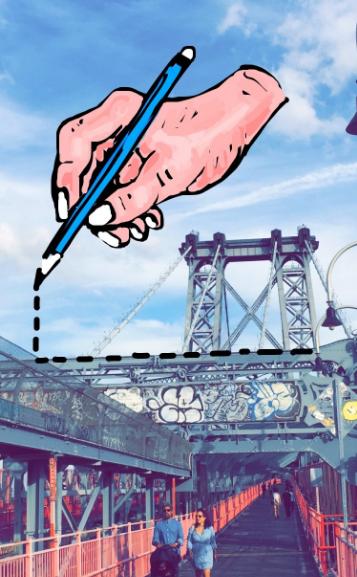 "Incredibile disegno Snapchat della mano che disegna linee tratteggiate sul ponte di New York City ""title ="" hand-new-york-bridge-snapchat.png ""width ="" 357 ""height ="" 577 ""srcset ="" https: //blog.hubspot. it / hs-fs / hubfs / hand-new-york-bridge-snapchat.png? t = 1539571477767 & width = 179 & height = 289 & name = hand-new-york-bridge-snapchat.png 179w, https://blog.hubspot.com /hs-fs/hubfs/hand-new-york-bridge-snapchat.png?t=1539571477767&width=357&height=577&name=hand-new-york-bridge-snapchat.png 357w, https://blog.hubspot.com/ hs-fs / hubfs / hand-new-york-bridge-snapchat.png? t = 1539571477767 & width = 536 & height = 866 & name = hand-new-york-bridge-snapchat.png 536w, https://blog.hubspot.com/hs -fs / hubfs / hand-new-york-bridge-snapchat.png? t = 1539571477767 & width = 714 & height = 1154 & name = hand-new-york-bridge-snapchat.png 714w, https://blog.hubspot.com/hs- fs / hubfs / hand-new-york-bridge-snapchat.png? t = 1539571477767 & width = 893 & height = 1443 & name = hand-new-york-bridge-snapchat.png 893w, https://blog.hubspot.com/hs-fs /hubfs/hand-new-york-bridge-snapchat.png?t=15395 71477767 & width = 1071 & height = 1731 & name = hand-new-york-bridge-snapchat.png 1071w ""sizes ="" (larghezza massima: 357px) 100vw, 357px"