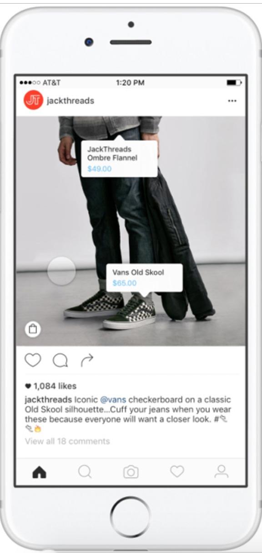 social commerce instagram nov 2016
