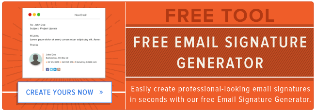 generatore di firme e-mail gratuito