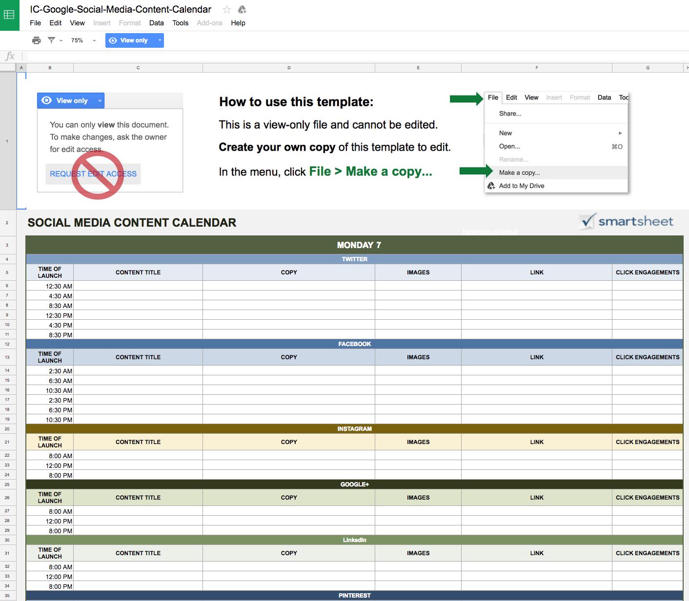 google-sheets-calendar-sociale