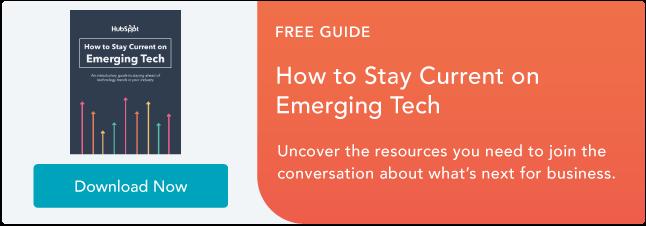 Resta aggiornato sulle tecnologie emergenti